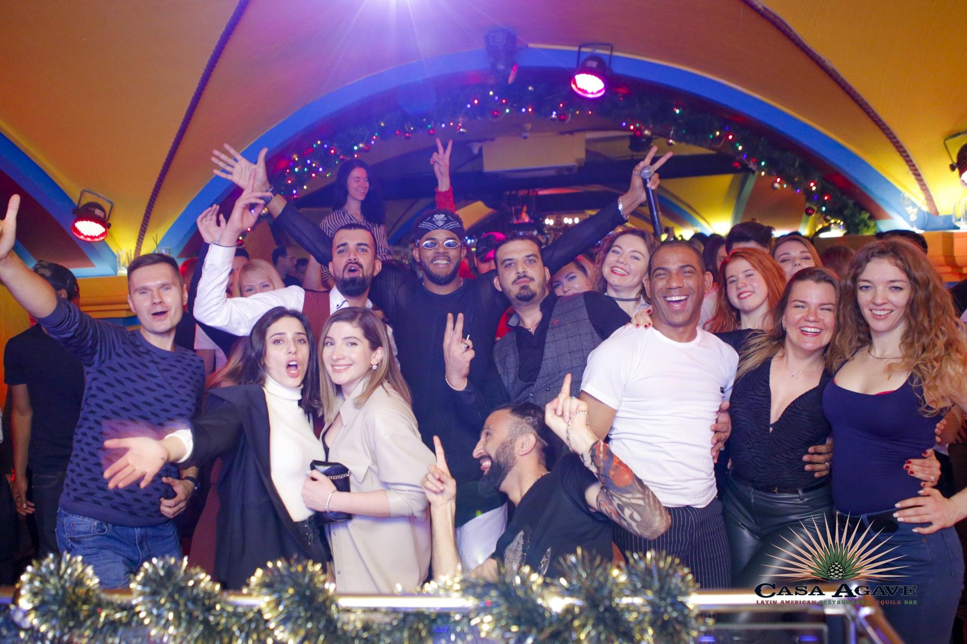 Salsa Party в Casa Agave